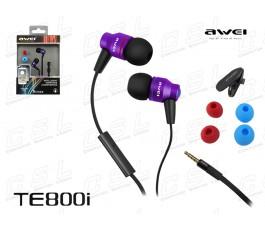 awei TE800I Lila / Violett